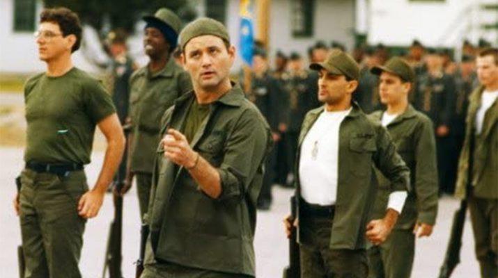 Film: Vojničine, komedija